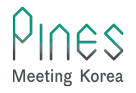 Pines Meeting Korea, DMC Company based in Seoul Korea Logo